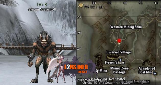 9 Garum Werewolf
