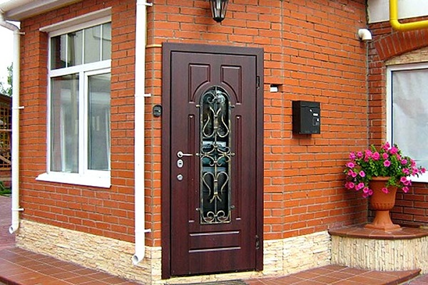 виды стальных дверей