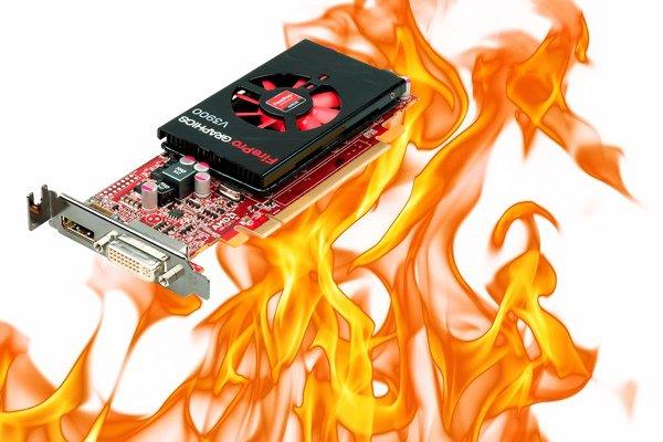 Нормальная температура видеокарты